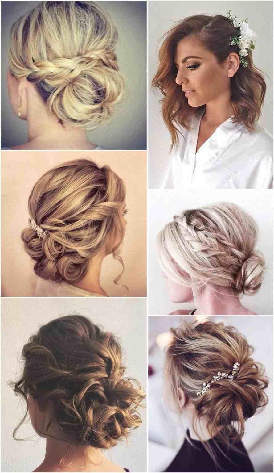 Hochzeit Frisuren Fur Mittlere Haarlange Wedding Hairstyles