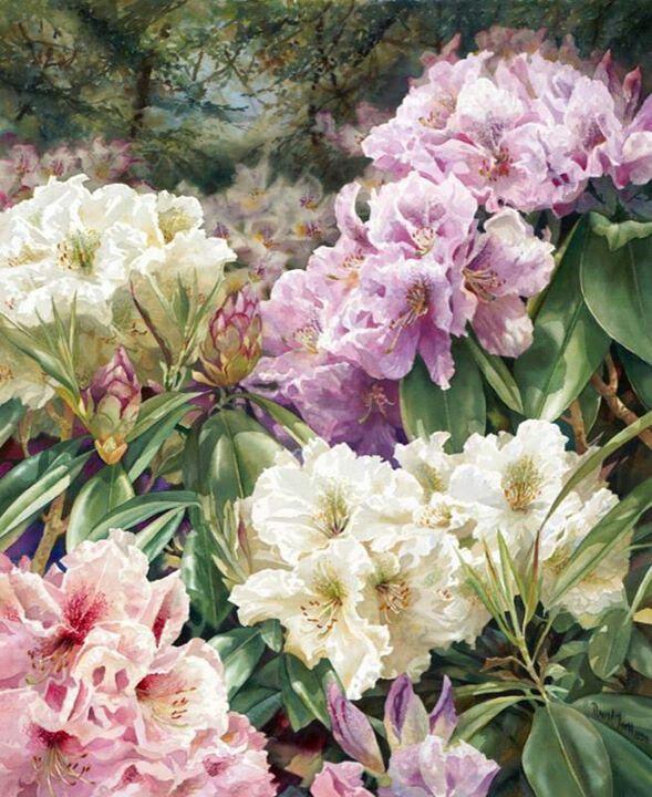 Painting by Darryl Trott.