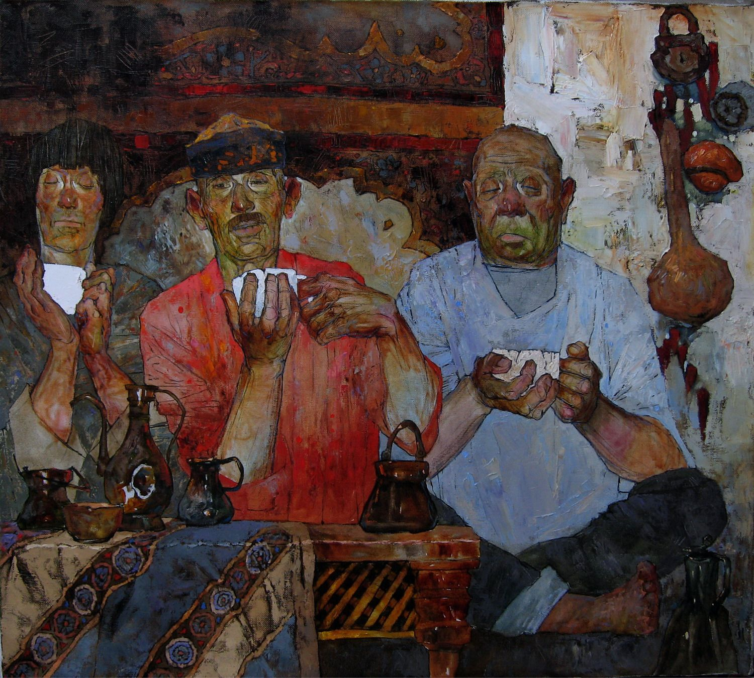 Painters of modern painting. Contemporary artists of Russia