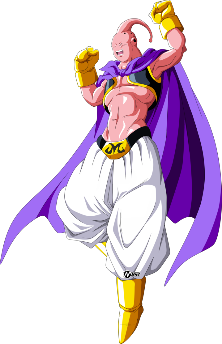 Majin Buu Dragon Ball Super By Naironkr More Awesome Anime