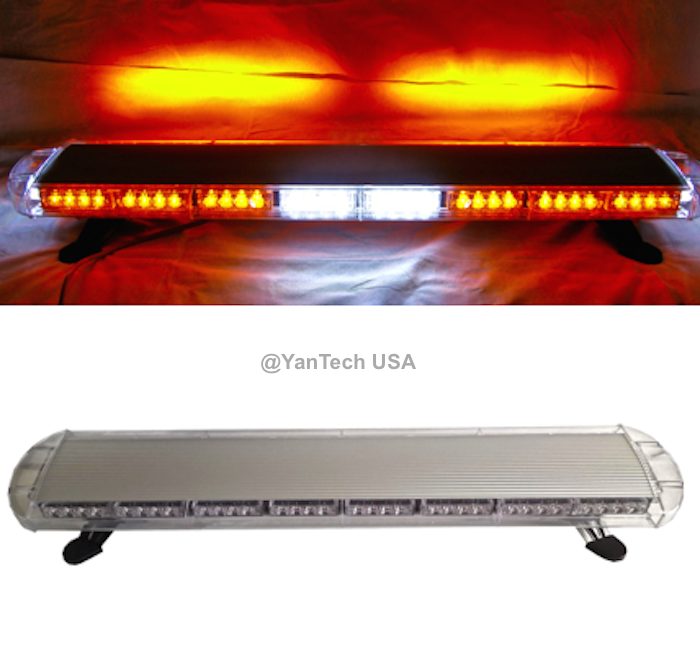 44 72 led amber light bar emergency beacon warn tow truck plow 44 72 led amber light bar emergency beacon warn tow truck plow wrecker strobe mozeypictures Image collections