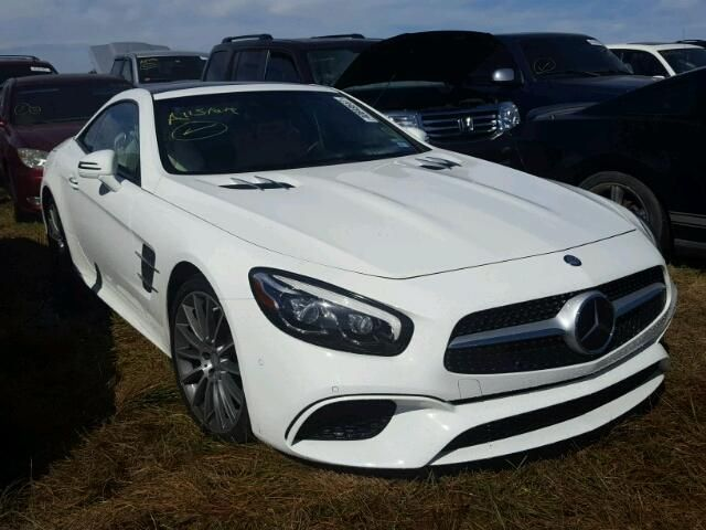 Salvage 2017 Mercedes Benz Sl550 Convertible For Sale Flood Title Salvage Cars Bmw Car Salvage