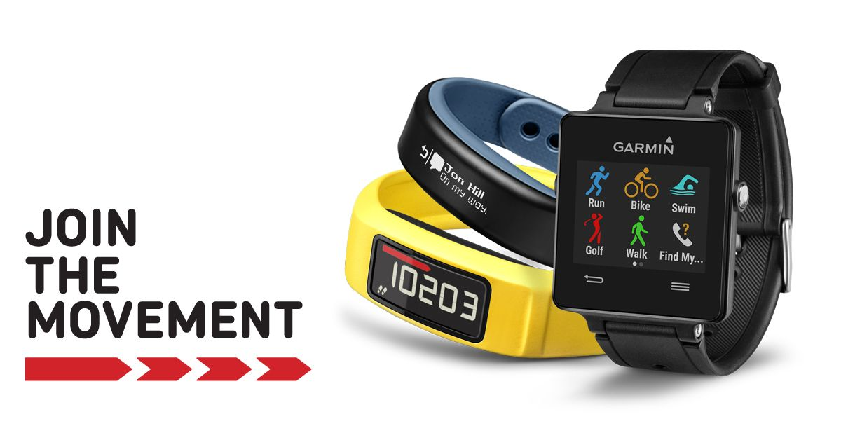 Equipamentos wearable da Garmin