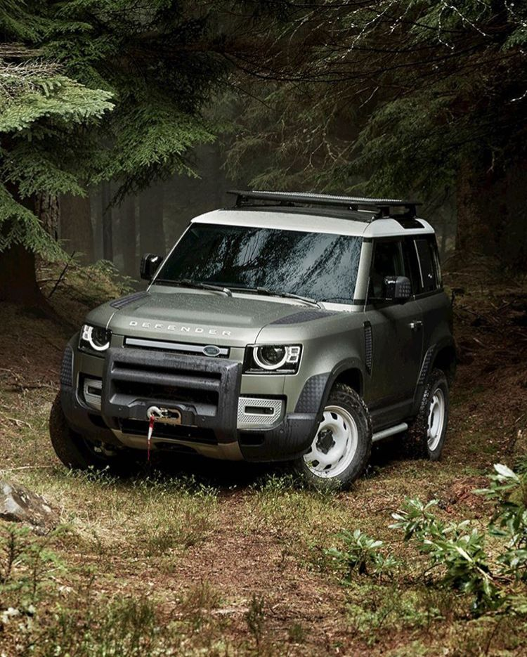 Pin by Renier Oberholzer on 2020 Land Rover Defender