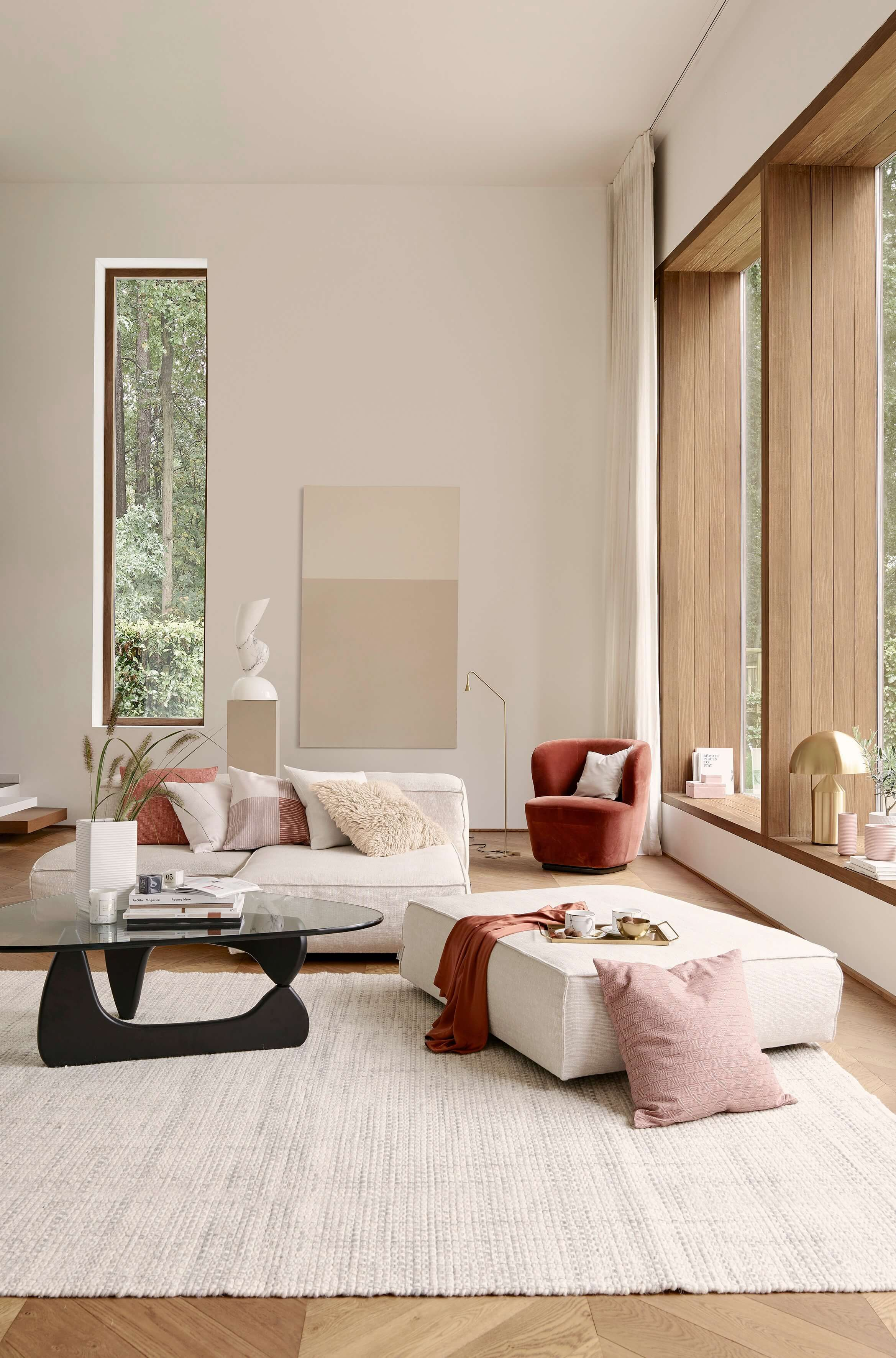 The New Neutrals Interior Trend For 2019 Living Room Interior