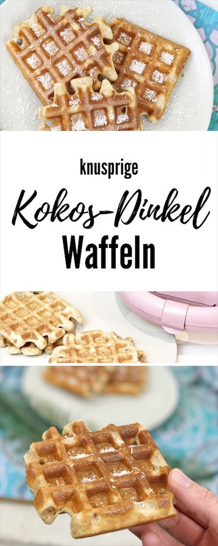 kokos dinkel waffeln thermomix pinterest dinkel dinkel waffeln und waffeln. Black Bedroom Furniture Sets. Home Design Ideas