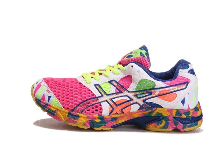 cheap for discount 664e9 7e29b Asics Gel-Noosa Tri 7 Mens Running Shoe Pink White-Green! Only  67.60USD