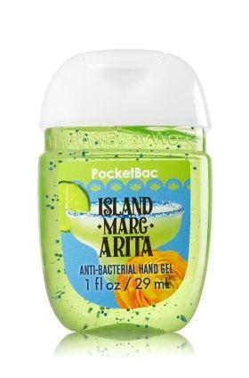 Island Margarita Pocketbac Sanitizing Hand Gel Bath Body