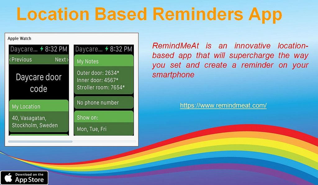 Download iOS Reminders App on iPhone RemindMeAt Daily