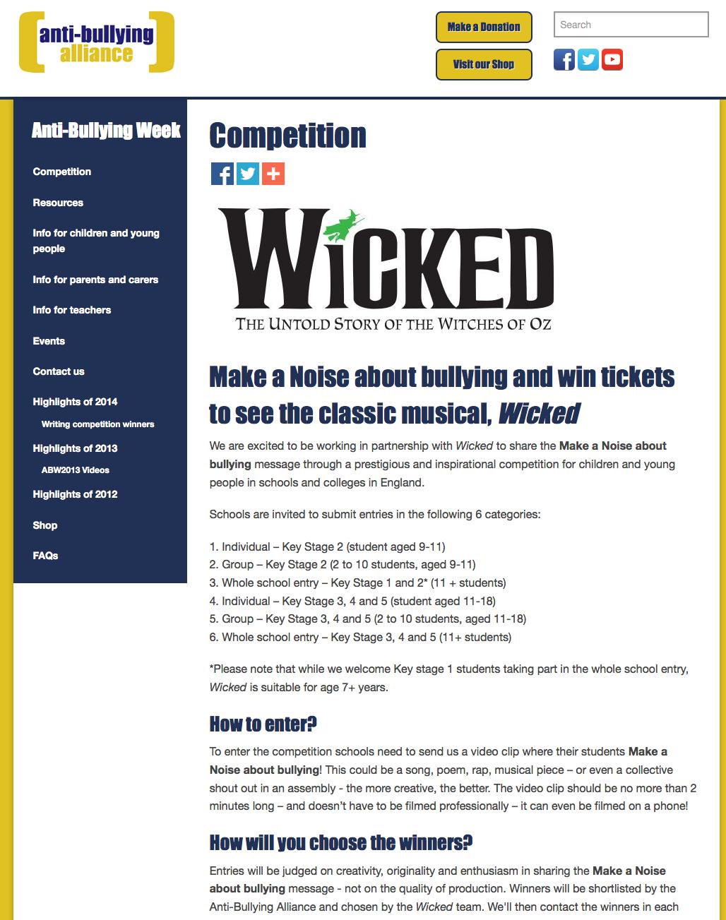Pin On Anti Bullying Week