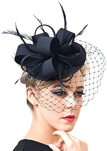 New Vintage Bride Wedding Hats Fascinators Elegant Church Partyl Hats online shopping - Thetrendyclothes