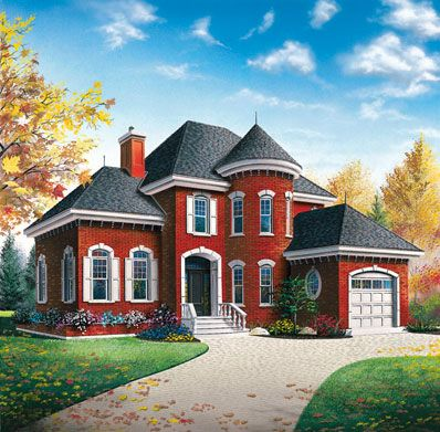 Mediterranean Architecture Homes | European Style House | Free House Plan  Reviews