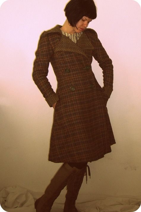 Someday I want to be able to make a coat like this.