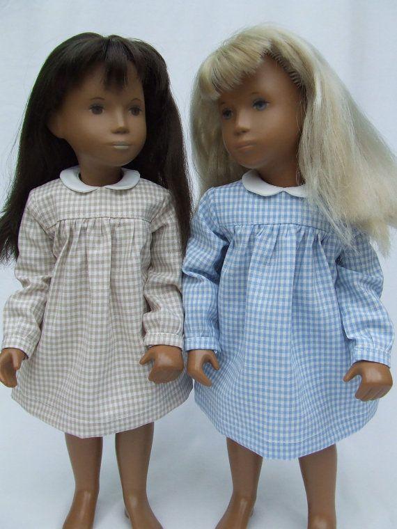 gingham Sasha doll dresses  Tammy had a Sasha doll.  Do you remember?