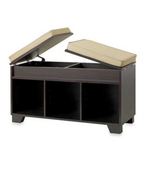 Awesome Bed Bath And Beyond Real Simple Storage Bench A Product Of Machost Co Dining Chair Design Ideas Machostcouk