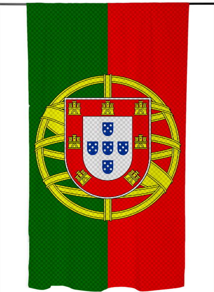 Portugal Portugal Flag Flag Vinyl Sticker