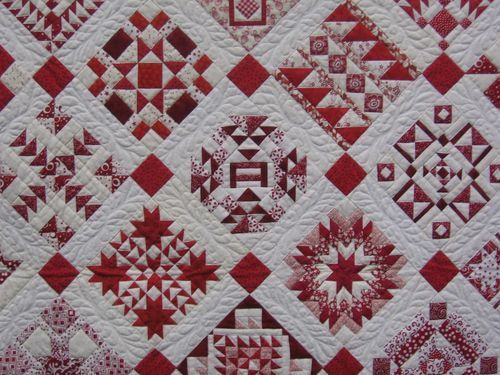 Wow! Awesome, Have seen a similar quilt in real life. Was really to good to be true to see! I hope mine will lokk a little like this!