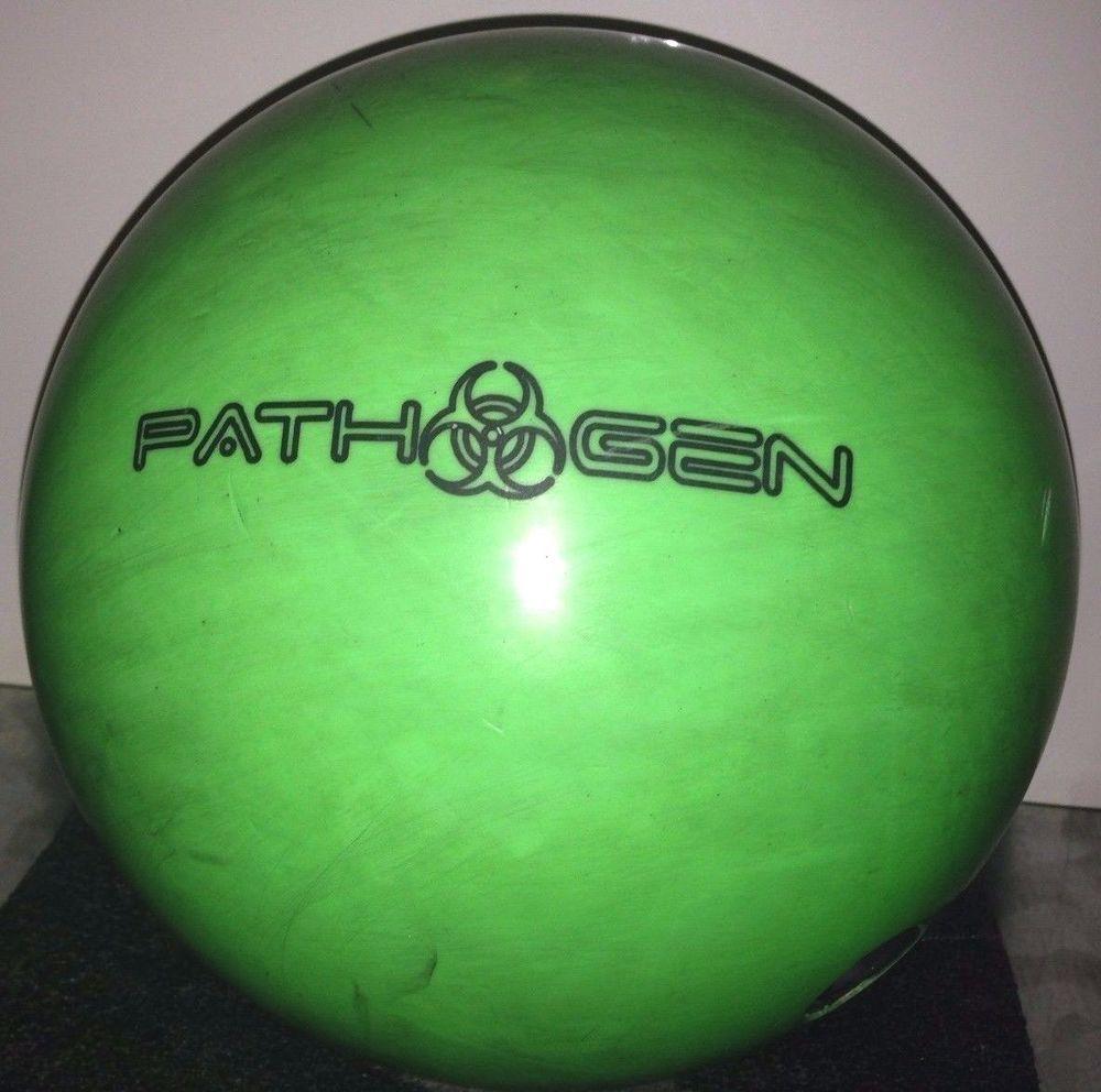 Pyramid Pathogen 15 5 Neon Green Reactive Resin Pre Drilled Bowling Ball Bowling Equipment Bowling Ball Bowling