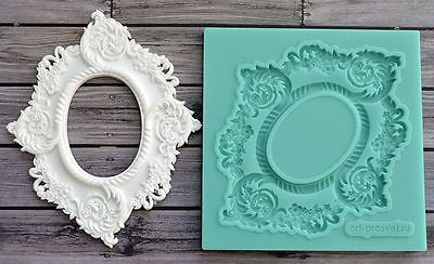 Best Quality Silicone Mold Frame Crafts Decorating Cake Candy Making ARTMD0264