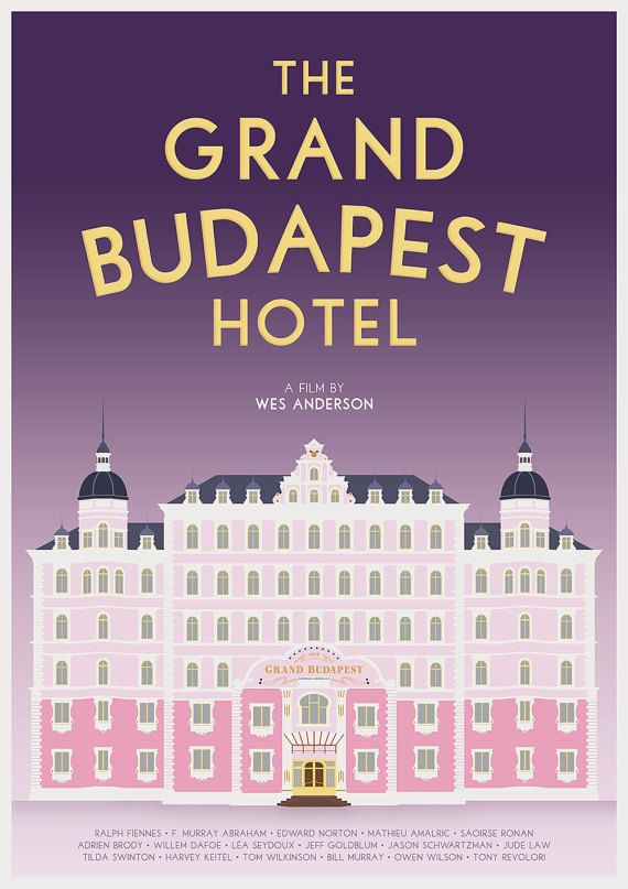 picture relating to Printable Movie Posters named Printable The Grand Budapest Lodge Motion picture Poster by means of