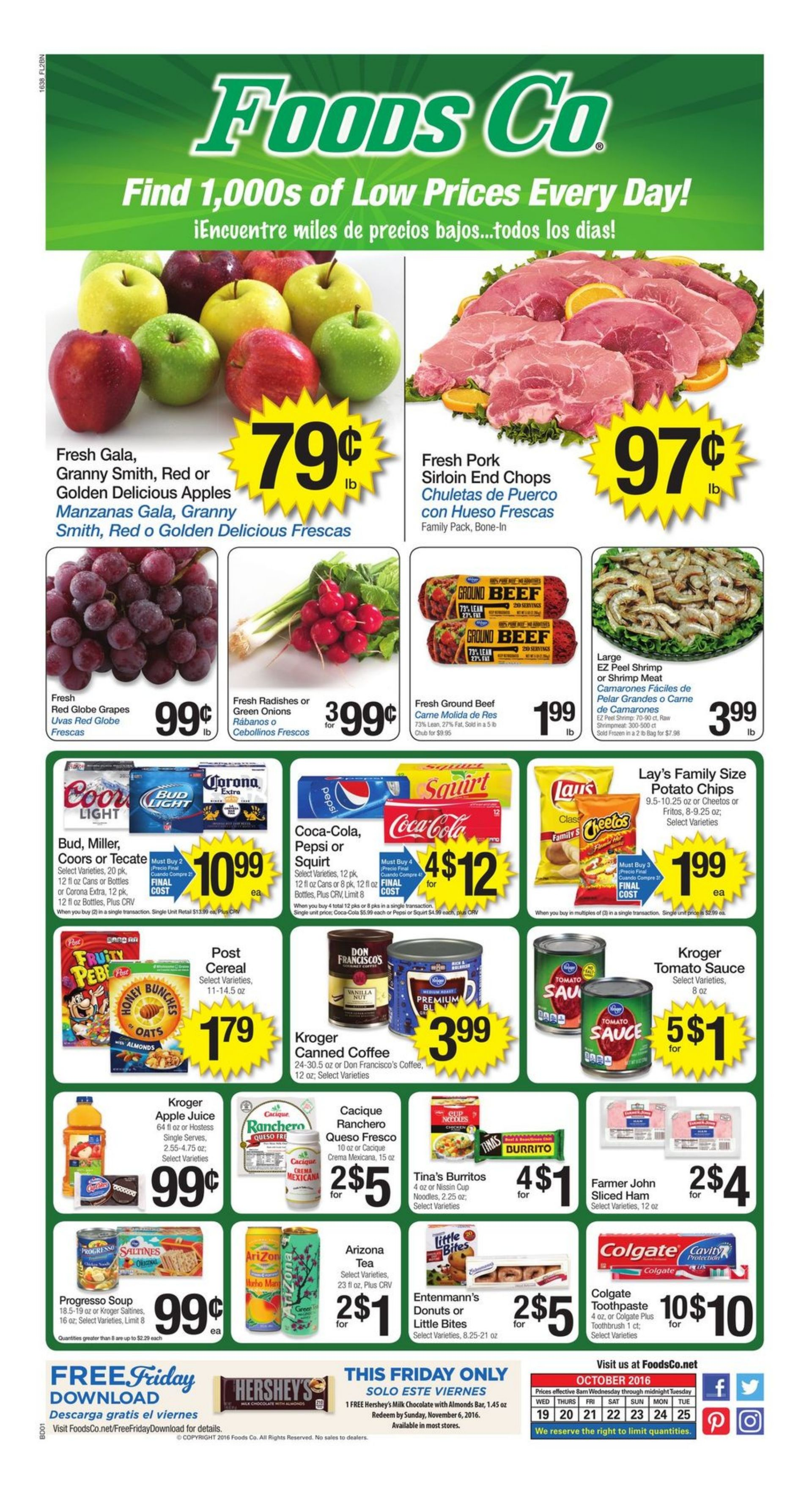 Foods co weekly ad
