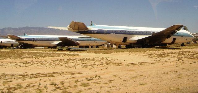 C-135 aircraft at AMARG