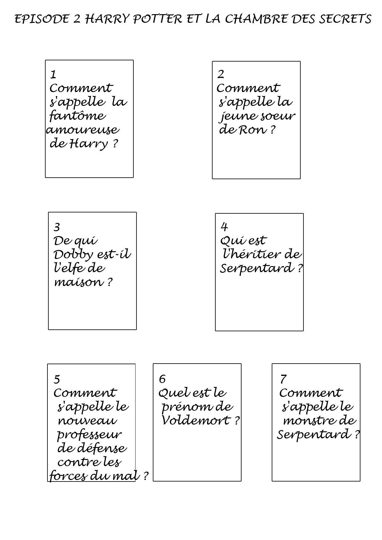 vignettes-harry-potter10questions  Harry potter, Quizz, Le