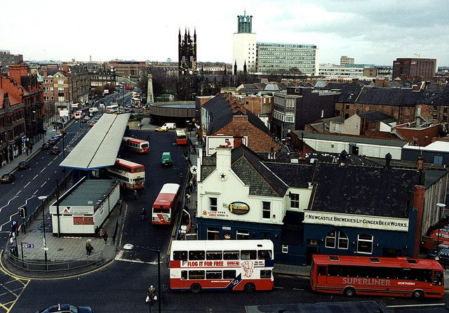 The Old Haymarket Bus Station Northumbria In 2018 Newcastle Bus