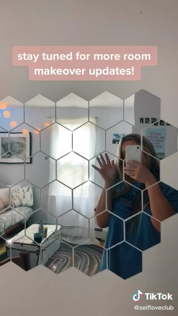 Cool Hexagon Mirrors Video Diy Bedroom Decor Cute Bedroom Decor Redecorate Bedroom