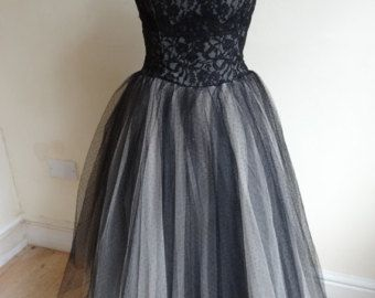 50's Dress. Belle Of The Ball.