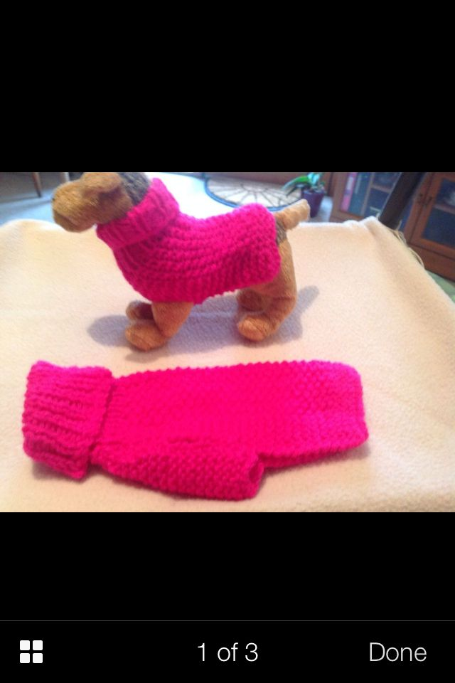 Dog jumper * teacup chihuahua * | CROCHET PARA MASCOTAS | Pinterest ...