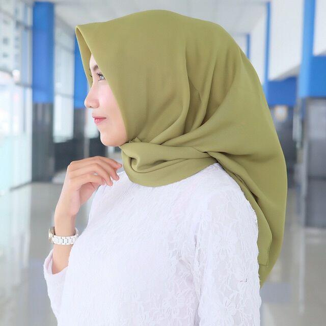 Kerudung Saudia Jilbab Bella Square Kerudung Laudya Square Hasna
