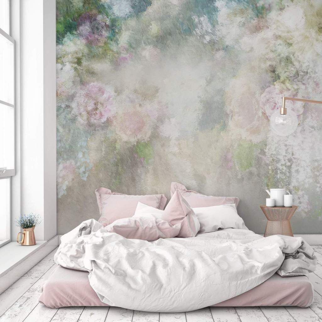 Flowers Wall Wallpapers Design For Your Bedrooms Decorating: Bedroom Murals, Wallpaper Bedroom