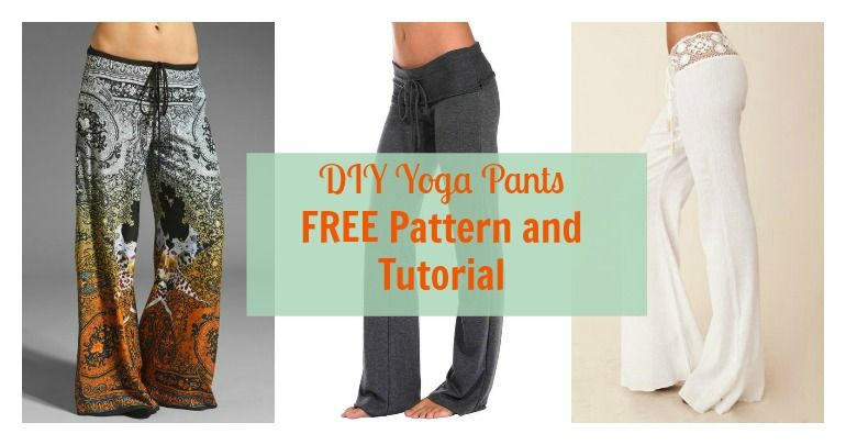 Yoga Pants for Mom FREE Pattern | Pinterest | Kleidung nähen ...