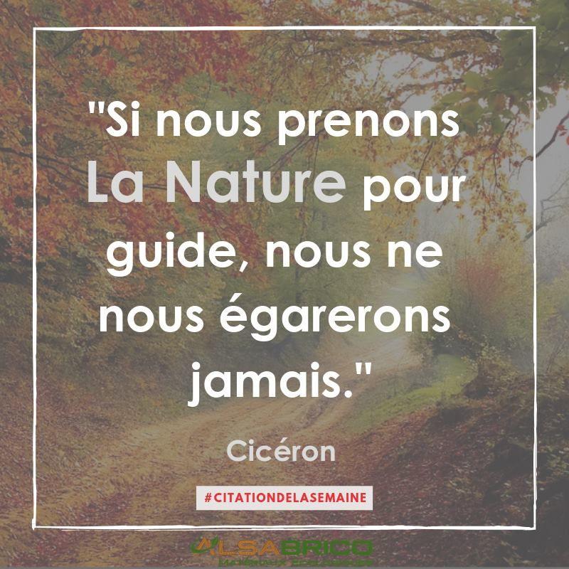 Citation N 10 Si Nous Prenons La Nature Pour Guide Nous Ne Nous