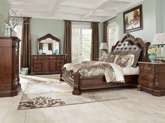 Ledelle Queen Sleigh Bedroom Set BEDROOMS Pinterest Furniture