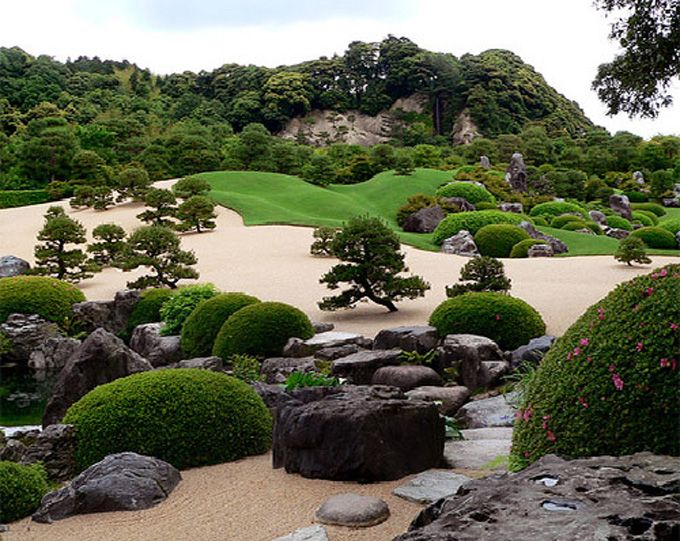 Japanese Rock Gardens Influenced By Zen Buddhism Can Be Found At Zen Temples Landscaping