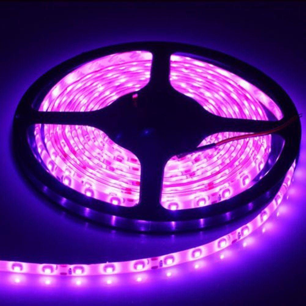 16 4ft 12v Flexible Led Light Strip Klaren Led Tape Light 5050 Rgb Color Changing Led Strip Kit W With Images Led Tape Lighting Strip Lighting Flexible Led Light