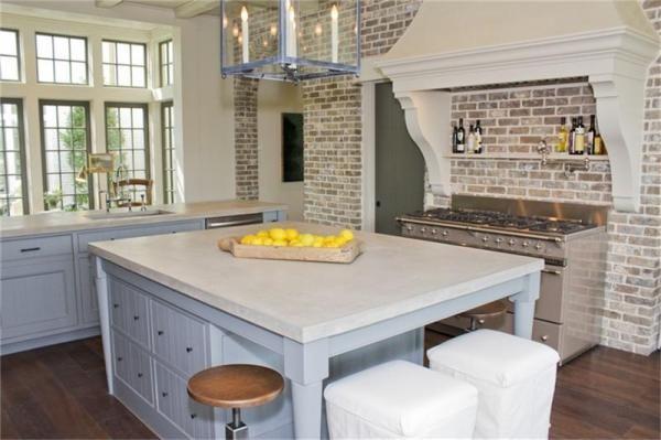Bellacasa Designs - Love The Whitewashed Brick