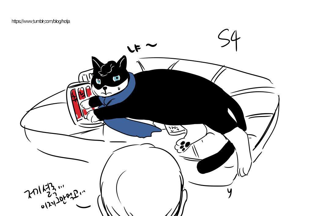 I think … S4 sherlock… fat cat….