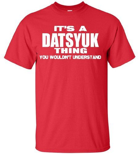 "DATSYUK ""THING"" RED T SHIRT (SMALL) STUFF WITH ATTITUDE http://www.amazon.com/dp/B00JTL45RA/ref=cm_sw_r_pi_dp_hzFUub08GNGPG"