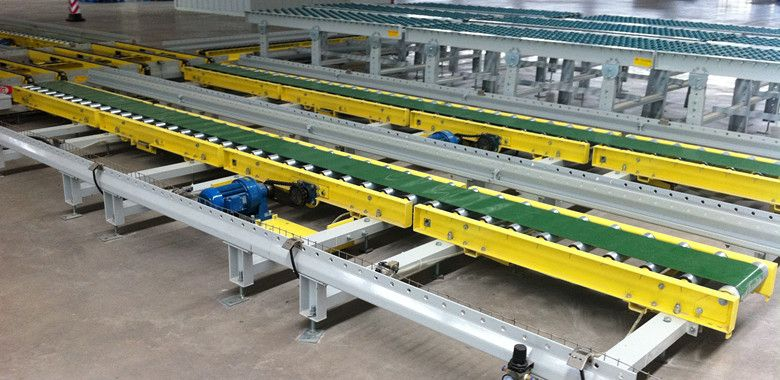 """Run roller conveyors tend to be popular within the warehousing and logistics industry, but have typical usefulness wherever distinct products or objects are now being relocated. They truly are generally stronger and a lot more sturdy than belt conveyors >>  Roller Conveyor --> http://www.conveyor-china.com/"""