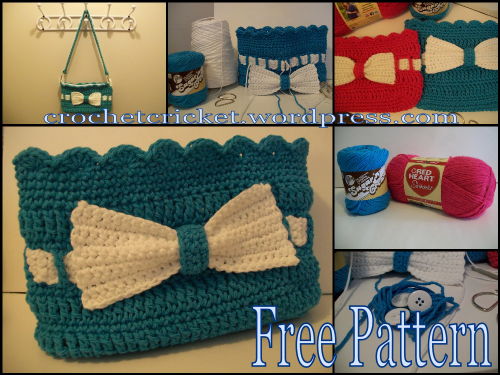 Little Lady Handbag with Bow – A Free Pattern By
