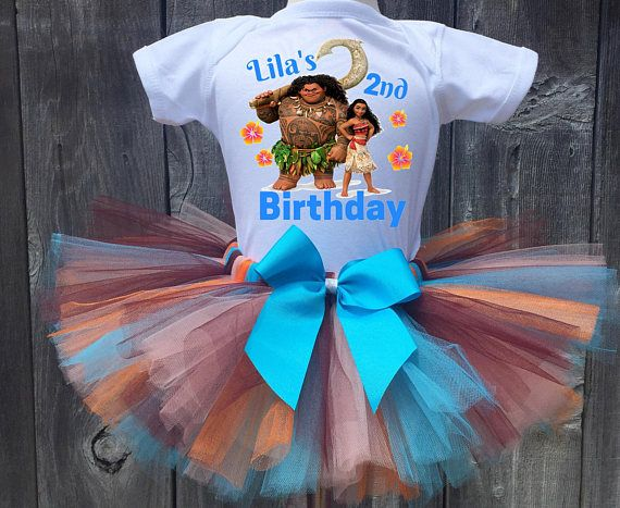 091bfd625 Moana And Maui Birthday Outfit, Moana First Birthday Outfit, Custom ...
