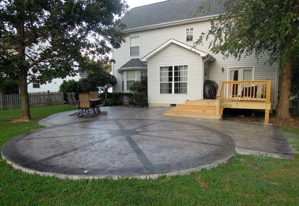 Concrete Patio Design Ideas concrete patio ideas for small backyards photo 2 1000 Images About Patio Designs On Pinterest