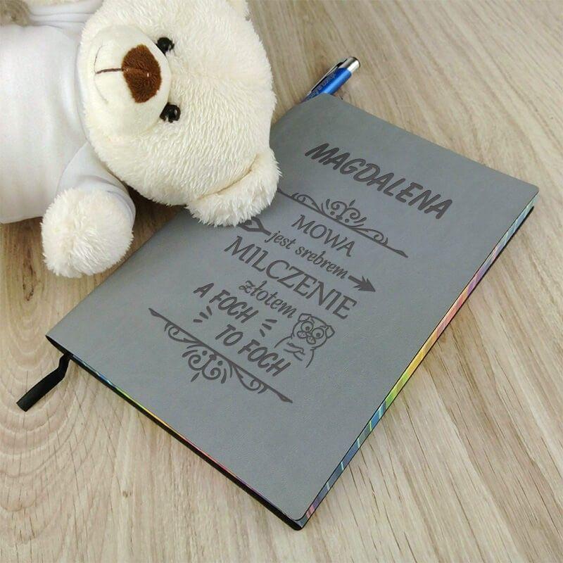 Notes Przepisnik Ze Smiesznym Tekstem Foch Book Cover Teddy Bear Teddy
