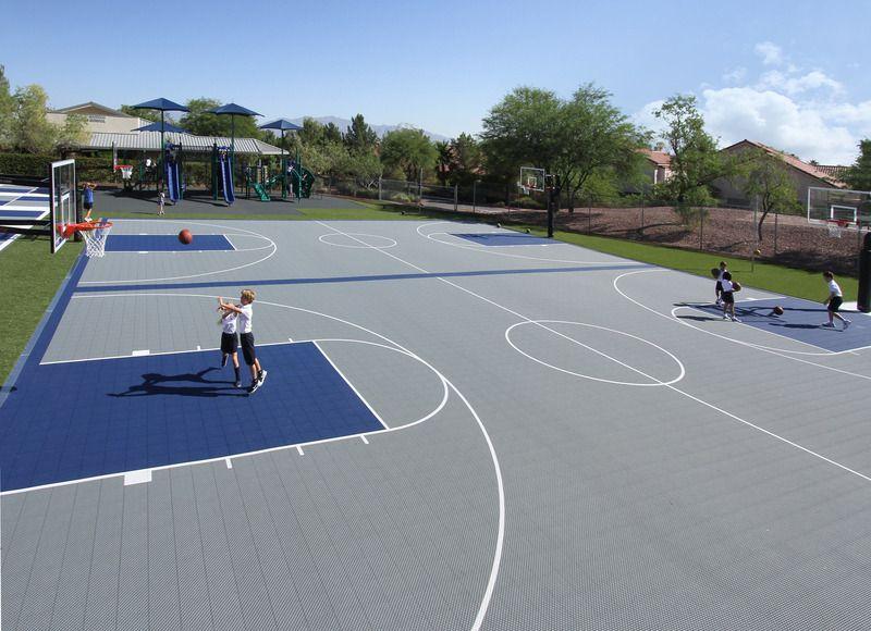 Versacourt Commercial Indoor Outdoor Backyard Basketball Courts Backyard Basketball Outdoor Basketball Court Basketball Court Backyard
