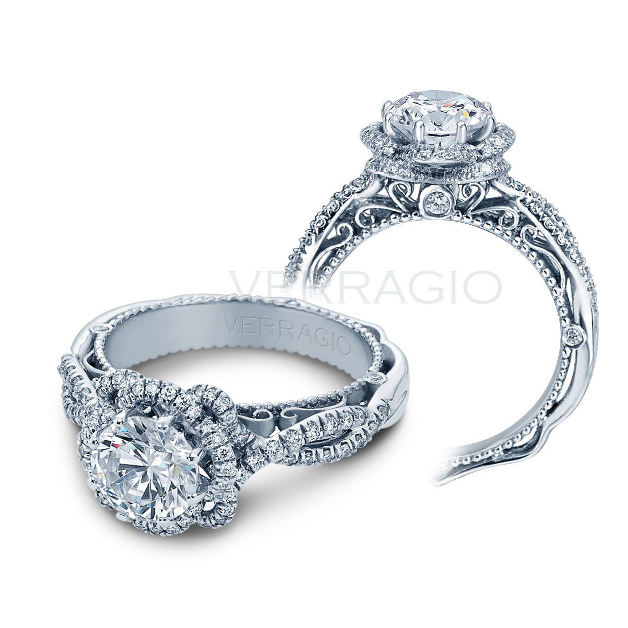 Verragio engagement rings afnrgl white gold ctw ring