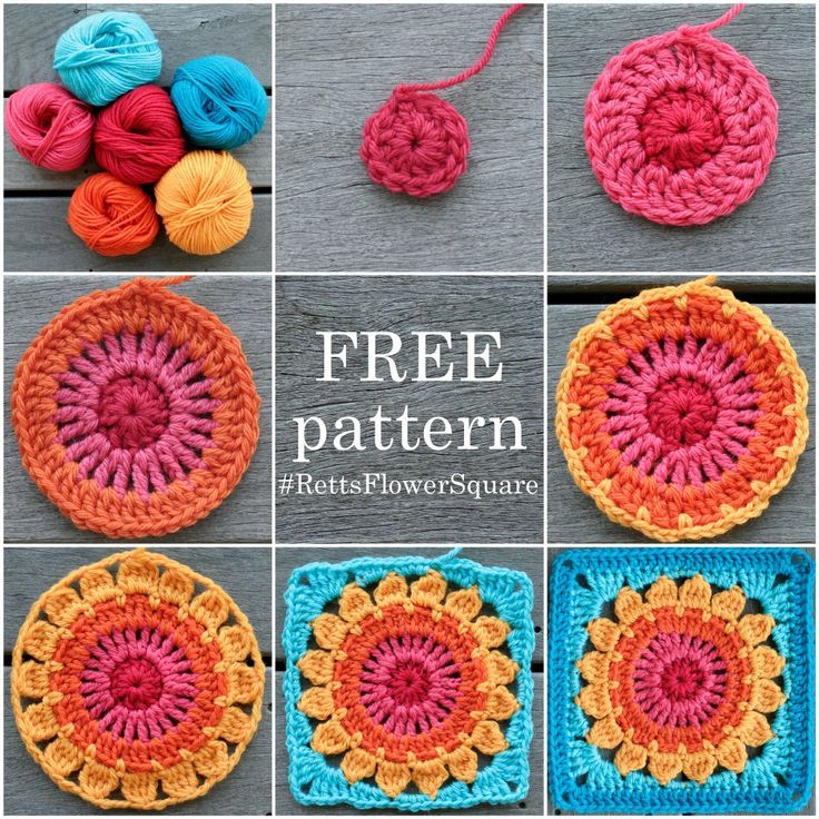 Resultado de imagen para granny square pattern   crochet   Pinterest ...