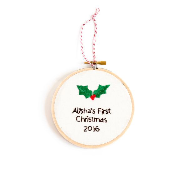first christmas ornament personalized baby christmas ornament